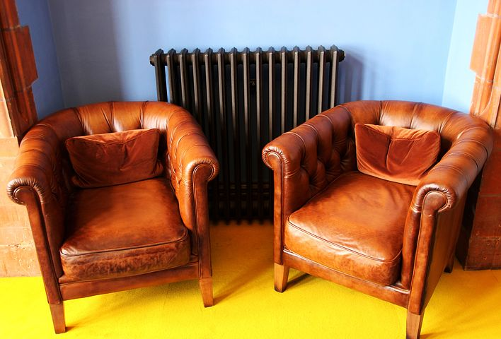 leather sofa pieces